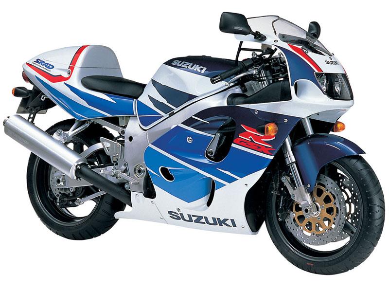 Suzuki GSXR 750 1996 service manual