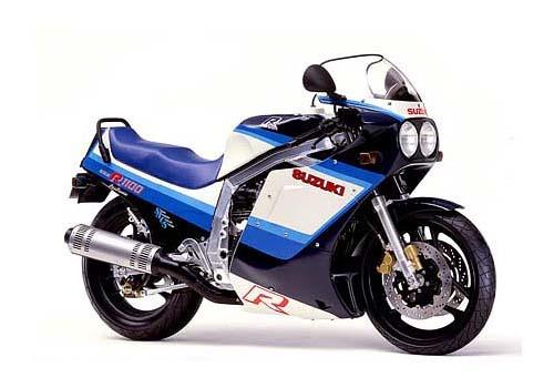 1986 Suzuki GSXR 1100 service manual