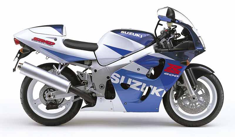 Suzuki gsxr 600 1998 service manual