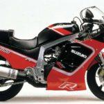 Suzuki GSX-R 1100 1987 datasheet