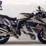 Suzuki GSX-R 1100 1992 datasheet