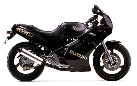 1990 Suzuki GSXR 250 datasheet