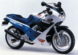 Suzuki GSX-R 250 1988 datasheet